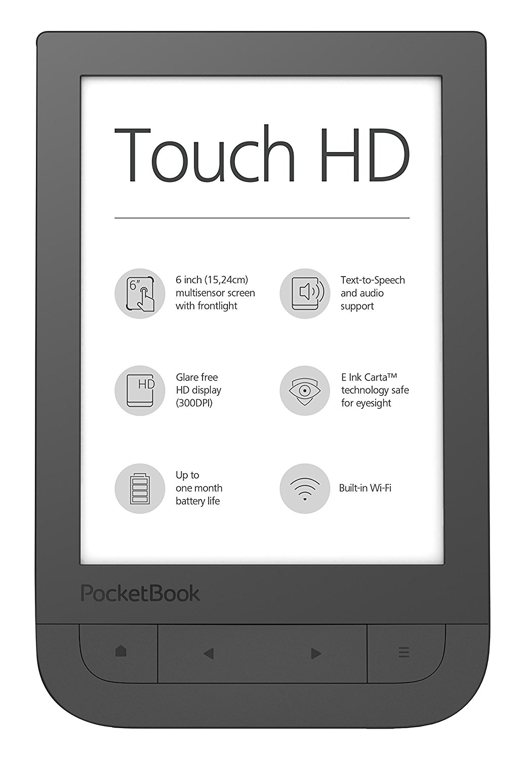 Liseuse Pocketbook touch HD
