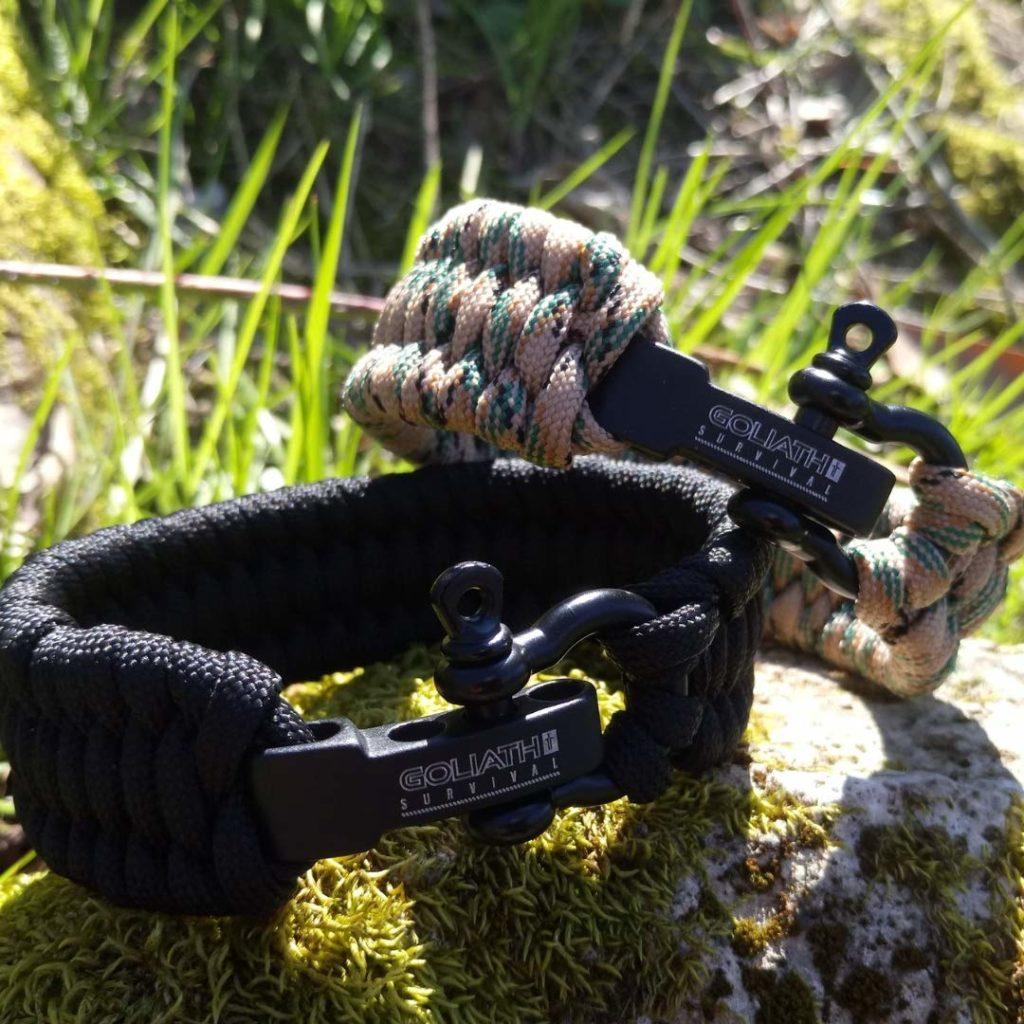 bracelet de survie Goliath