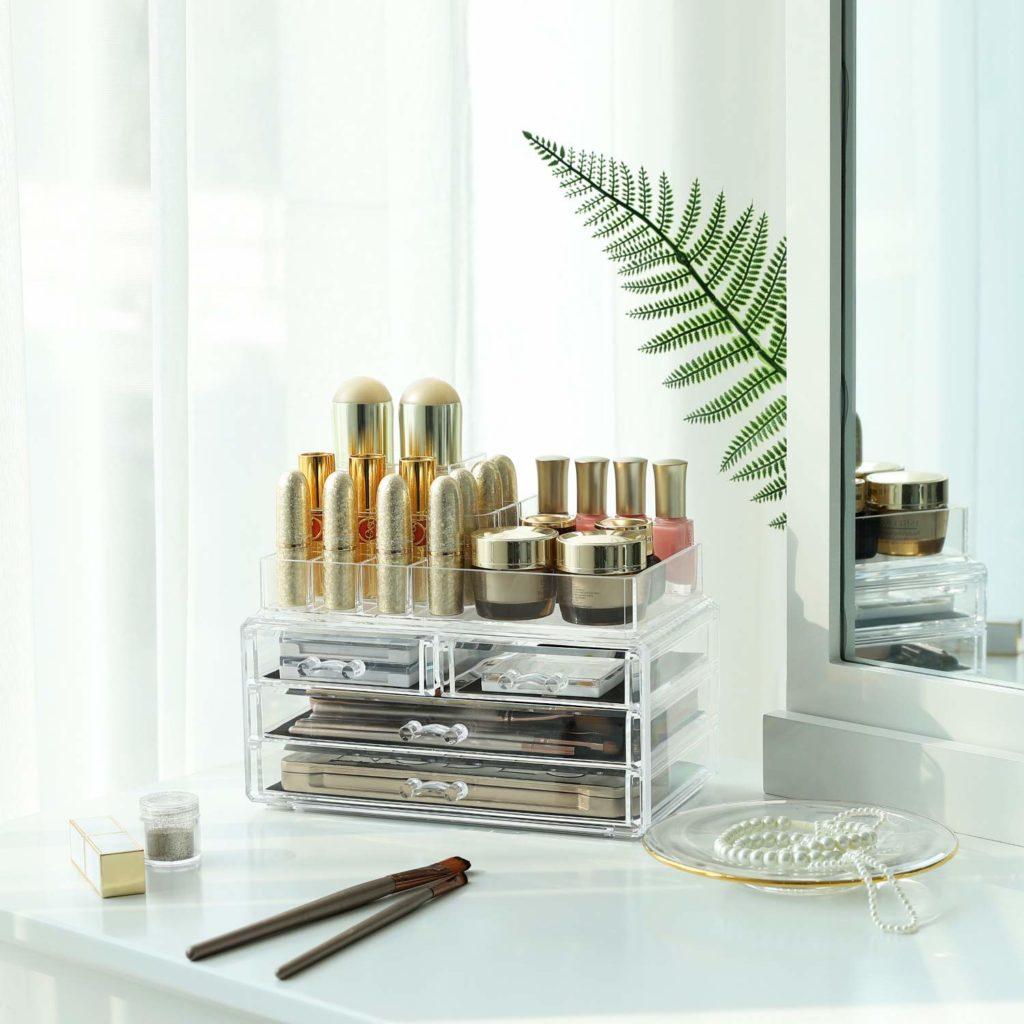 comment choisir un rangement à maquillage