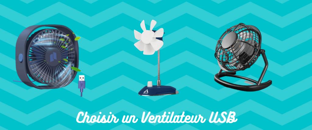 choisir un ventilateur USB