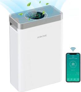 Hosome Purificateur dAir Purificateur d'air avec filtre HEPA