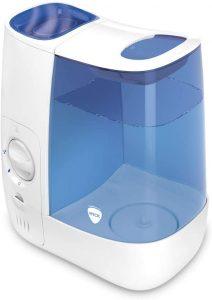 Wick Humidificateur dair chaud WH845E2 Bleu Blanc humidificateur à air chaud