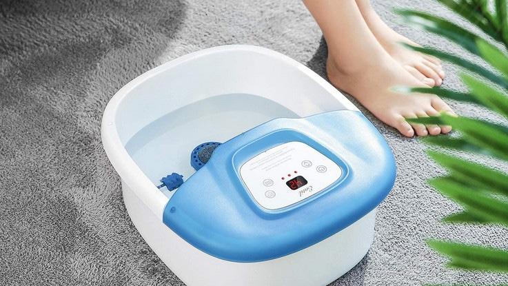 Vous cherchez un bain de pieds massant ? Nous avons analysé et comparé les meilleurs masseurs de pieds pour vous permettre d'acheter le votre !